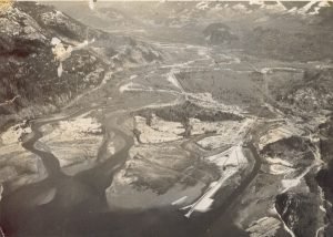 Squamish Estuary circa 1954. (Photo: Al Bird)
