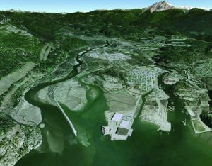 Squamish Estuary circa 2010. (Google Earth)